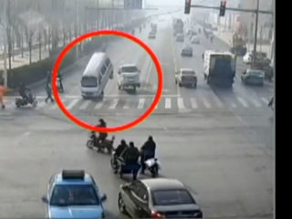 What Caused These Vehicles To Jump Mysteriously Into the Air?