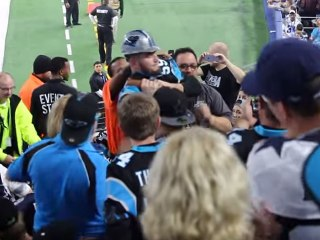 Video Shows Panthers Fan Choked by Security Guard at Cowboys Game