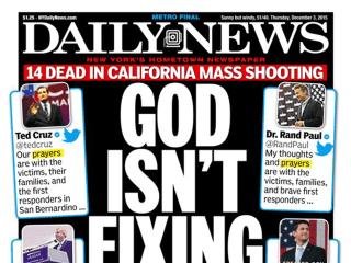 'Thoughts and Prayers' Backlash After San Bernardino Shooting