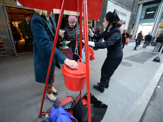 Salvation Army Red Kettles by the Numbers