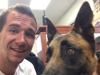 'He Was My Rock': Veteran With PTSD Reunited With Military Dog