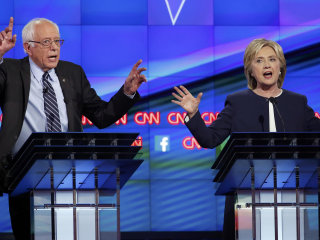 Democratic Debate: Acrimony and Uncertainty After Clinton Data Breach