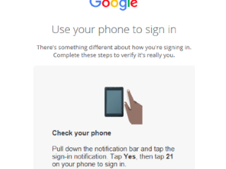 Google Tests Password-Free Logins Using Just Your Phone