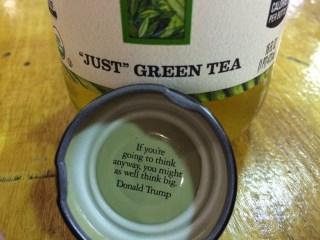 Honest Tea Says It's Removing Donald Trump Quote from Bottle Cap