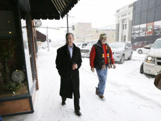 One Iowan Attends Martin O'Malley Event During Winter Storm