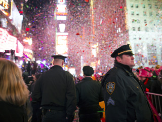 Heavily Armed Anti-Terror Police to Guard Times Square on New Year's