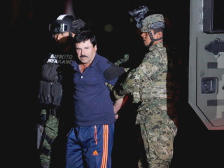 El Chapo: Mexican Drug Kingpin Recaptured, Sent Back to Prison Where He Escaped