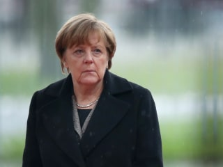 Germany's Merkel Says Refugees Must Return Home Once War Is Over