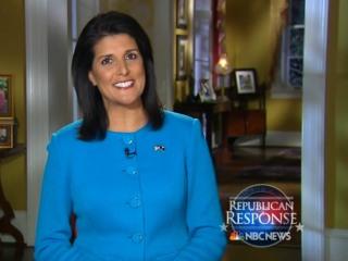 Haley Defends SOTU Attack on 'Irresponsible' Trump