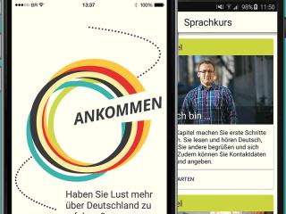 Ankommen! German App for Migrants Teaches Critical Info, Language Skills
