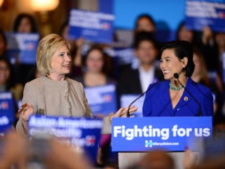 Clinton Sole Presidential Hopeful to Attend Asian-American Forum, Joining Obama