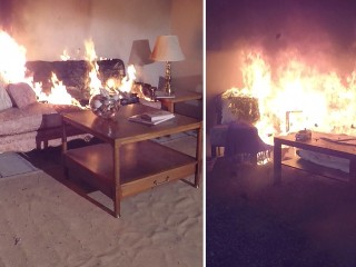 Newer homes and furniture burn faster, giving you less time to escape a fire
