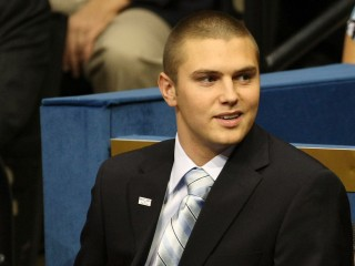 Track Palin, son of Sarah Palin, arrested on domestic violence charges against dad