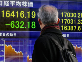 Asia Markets Steeply in the Red, Nikkei in Bear Market