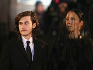 Celine Dion's Son Gives Power Eulogy for Father, René