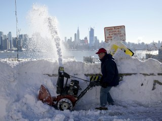 Snow Day: Blizzard Leaves East Coast Buried Under Feet of Snow