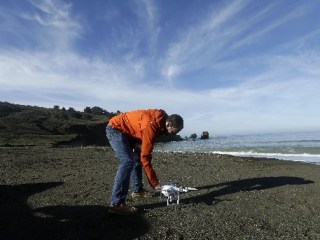 California Residents Turn to Drones to Document Coastal Erosion