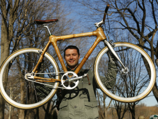 Filipino-American Entrepreneur Is Building Bamboo Bikes to Improve the Planet