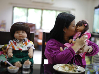 'Look Thep' Lifelike Doll Craze Sweeps Superstitious Thailand