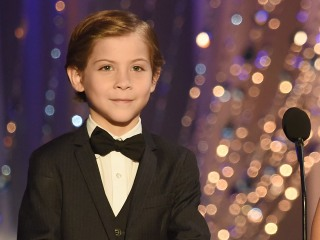 Jacob Tremblay Meets Leonardo DiCaprio at SAG Awards