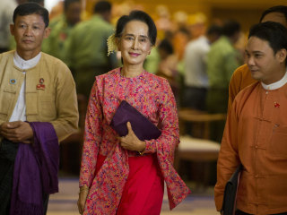 Myanmar's Parliament Opens in the Dawning of a New Democratic Era