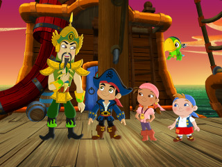 John Cho Takes to the High Seas for 'Jake and the Never Land Pirates' Episode