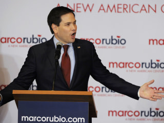Rubio Avoids Attack on Trump, Hits Cruz Instead
