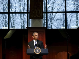 President Obama Asks All Americans to Fight Islamophobia During First Mosque Visit