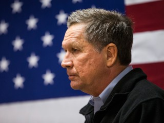 An Unscripted Kasich Aims for Surprise Finish in NH