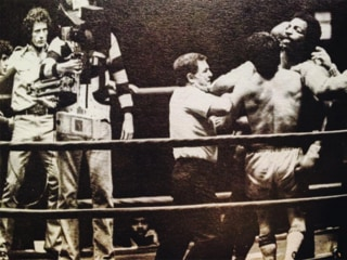 Sylvester Stallone Shares Throwback Rocky Photos From Apollo Creed Fight