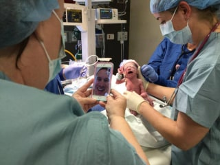 Illinois Army Dad Sees Quadruplets Being Born Via FaceTime From South Korea