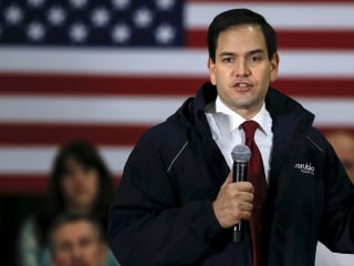 Marco Rubio Challenged on Opposition to Same-Sex Marriage