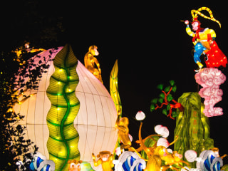 London Puts on Lantern Show to Celebrate Lunar New Year