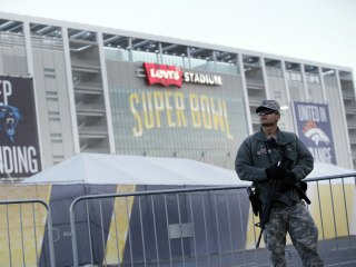 Super Bowl 50: Gaggle of Security Forces Unite for Big Game