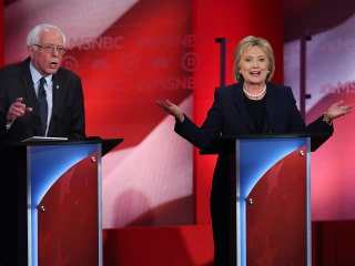 Democratic Debate: Clinton, Sanders Square Off in New Hampshire