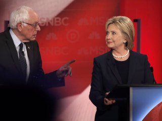 Clinton, Sanders Show Sharp Differences in New Hampshire Debate