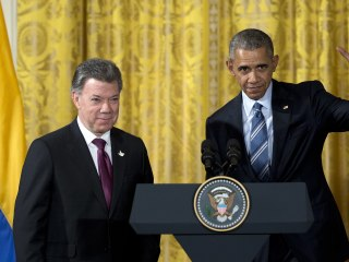 'Paz Colombia': Santos, Obama Announce Next Chapter of U.S. Support