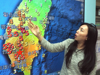 6.4-Magnitude Earthquake Strikes Taiwan