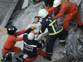 Taiwan Earthquake: Death Toll Rises as Survivors Pulled From Rubble