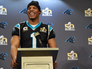 As Expected Panthers' Cam Newton Named League MVP at NFL Honors