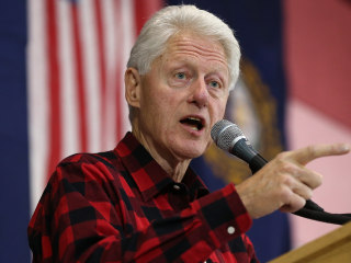 Bill Clinton Keeps Up Pressure on Bernie Sanders