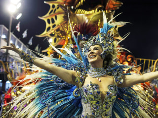 Brazil's Wild Carnival Parades Roll On
