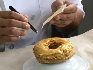 Meet the Chef Behind the 24K Gold Doughnut