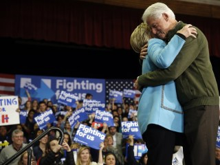 Bill Stumping for Hillary Clinton: 'Sometimes ... I Wish We Weren't Married'