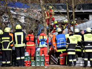 Trains Collide in Bad Aibling, Germany, Killing Nine and Injuring Scores