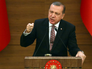 Turkey's Erdogan Slams U.S. Over Support for Syrian Kurds
