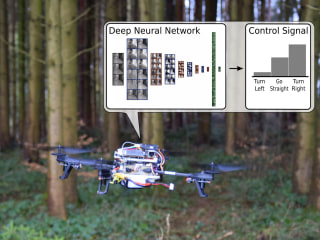 Trail-Following Drones Could Locate and Guide Lost Hikers