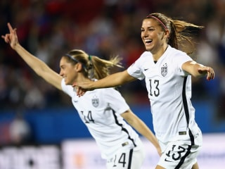 WATCH: Morgan Scores 12 Seconds Into CONCACAF Olympic Qaulifier