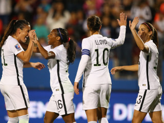 Quick Goal Prompts 5-0 Win Over Costa Rica in Olympic Qualiying