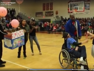 'PROM?': Teenager's 'Promposal' To Special Needs Friend Goes Viral